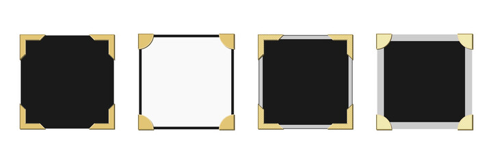 Picture Frame Borders Vector