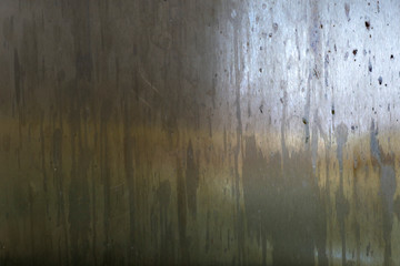 Texture of old oiled metal