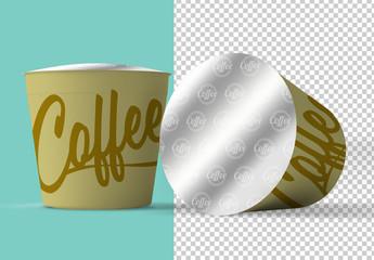 Coffee Capsules Mockup