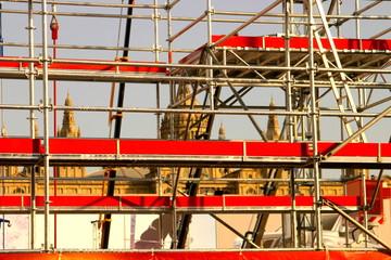 Barcelona construmat in Montjuic. Spain