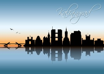 Kaliningrad skyline - Russia
