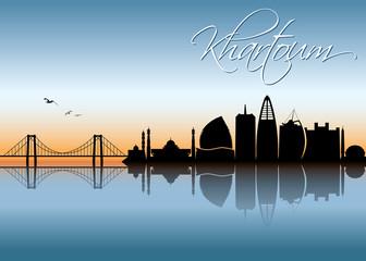 Khartoum skyline - Sudan