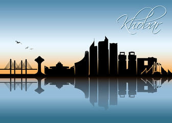 Khobar skyline - Saudi Arabia