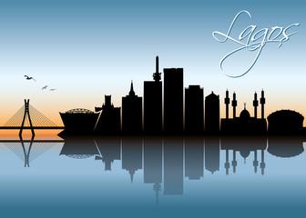 Lagos skyline - Nigeria