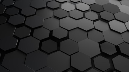Abstract hexagonal background. Fototapete