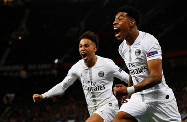 Champions League Round of 16 First Leg - Manchester United v Paris St Germain