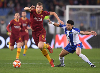 Champions League Round of 16 First Leg - AS Roma v FC Porto