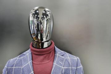 Dummy men in casual suit