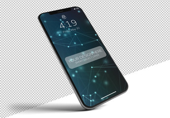 Isolated Smartphone Mockup