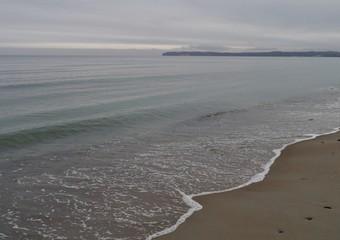 Ostseewellen am Strand