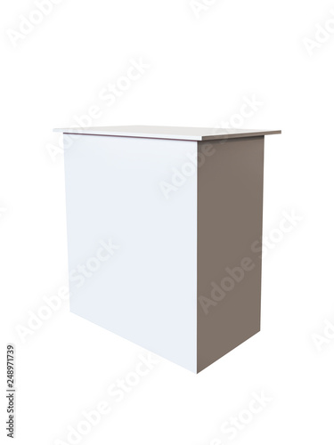 Exhibition Booth Table : Large rectangle trade show counter exhibition booth