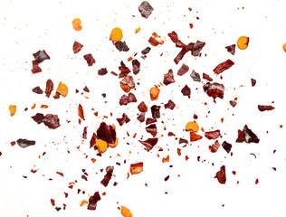 crushed chili pepper, bitter food