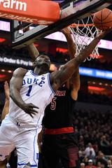 NCAA Basketball: Duke at Louisville