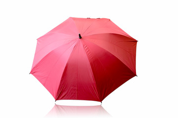 Umbrella isolated on white background.This has clipping path