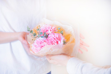 Small carnations bouquet