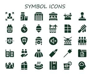 symbol icon set