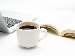 コーヒー 読書 コンピュータ