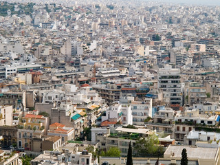 View from Akropolis, Athens, Greece