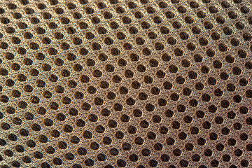 3d texturised technological seamless breathing fabric closeup