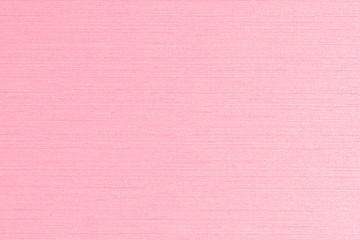 Pink cotton silk blended fabric wallpaper texture pattern background in light sweet rose red color
