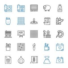 sketch icons set