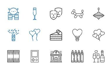 fun icons set