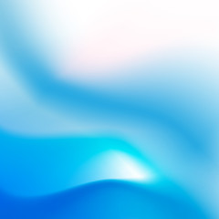 Abstract background smooth blue curve and blend 002