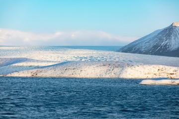 Gletscherlagune Jökulsárlón in Island
