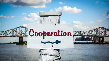 Sign 387 - Cooperation