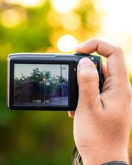 Small Black Digital Camera