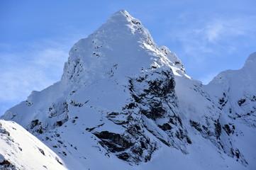 Tatry Tatrzański Park Narodowy zima TPN Góry Koscielec lawiny