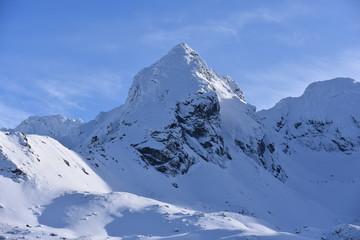Tatry Tatrzański Park Narodowy zima TPN Góry  Koscielec