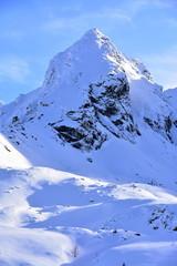 Koscielec Tatry Tatrzański Park Narodowy zima TPN Góry
