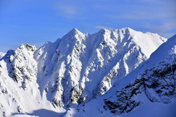 Granaty Orla Perc Tatry Tatrzański Park Narodowy zima TPN Góry