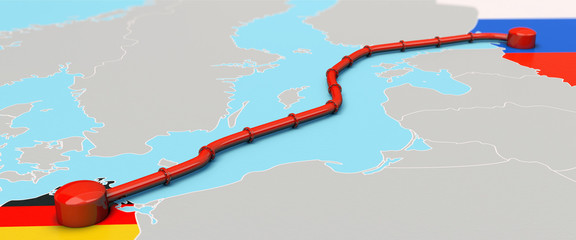 Nord Stream 2 Pipeline, Illustration