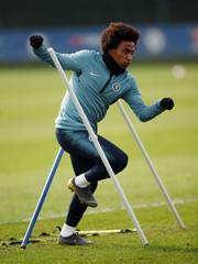 Europa League - Chelsea Training