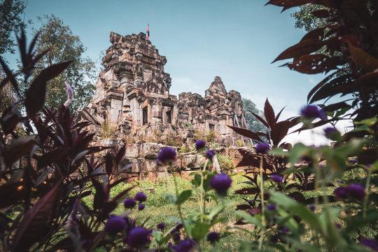 Wat Ek Phnom - Tempel bei Battambang, Kambodscha