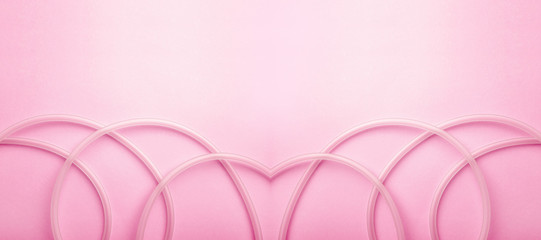 Valentine's Day romantic love poster background material