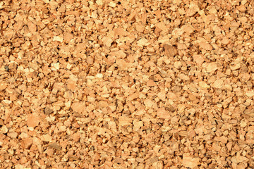 Empty natural cork board texture