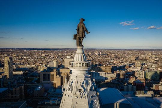 Aerial of Philadelphia