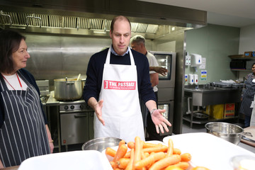 "Britain's Prince William, Duke of Cambridge visits the ""The Passage"", in London"