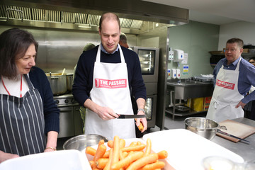 """Britain's Prince William, Duke of Cambridge visits the """"The Passage"""", in London"""
