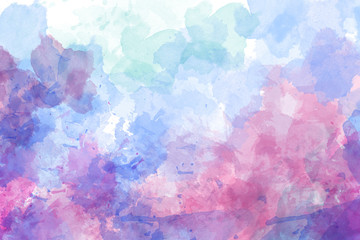 Purple abstract watercolor background