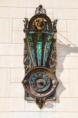 Art Deco Style Outdoor Clock -Lecce, Apulia, Italy