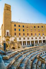 The Roman Amphitheatre - Lecce, Apulia, Italy
