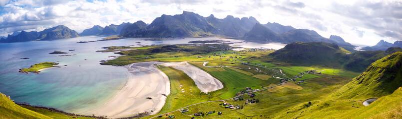 Fotomurales - Lofoten Islands panorama
