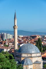 Mosque and Cityscape of Prizren, Kosovo