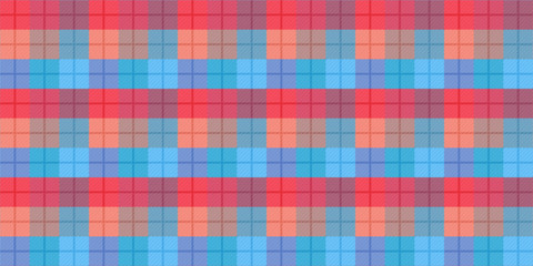 Popular fashion print design for fabric or other products in 2019. Scottish cell fabric. Tartan seamless pattern. Pattern in a cell.