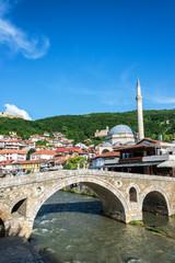 Old Stone Bridge in Prizren, Kosovo