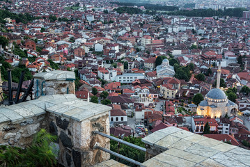 Cityscape View from Prizren Fortress